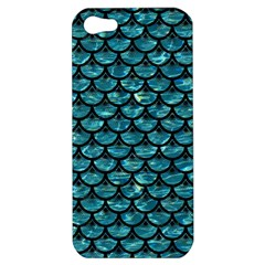 Scales3 Black Marble & Blue Green Water (r) Apple Iphone 5 Hardshell Case by trendistuff