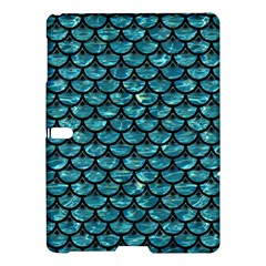 Scales3 Black Marble & Blue Green Water (r) Samsung Galaxy Tab S (10 5 ) Hardshell Case  by trendistuff