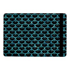 Scales3 Black Marble & Blue Green Water Samsung Galaxy Tab Pro 10 1  Flip Case by trendistuff