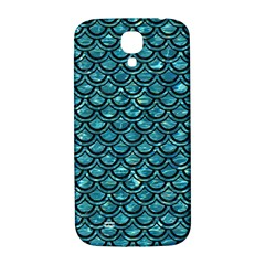 Scales2 Black Marble & Blue Green Water (r) Samsung Galaxy S4 I9500/i9505  Hardshell Back Case by trendistuff