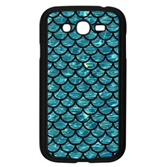 Scales1 Black Marble & Blue Green Water (r) Samsung Galaxy Grand Duos I9082 Case (black) by trendistuff