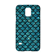 Scales1 Black Marble & Blue Green Water (r) Samsung Galaxy S5 Hardshell Case  by trendistuff