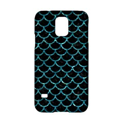 Scales1 Black Marble & Blue Green Water Samsung Galaxy S5 Hardshell Case  by trendistuff