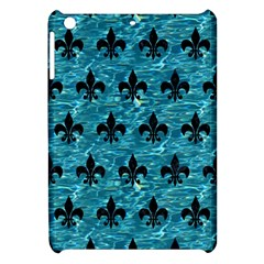 Royal1 Black Marble & Blue Green Water Apple Ipad Mini Hardshell Case by trendistuff