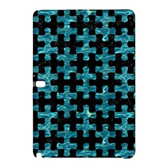 Puzzle1 Black Marble & Blue Green Water Samsung Galaxy Tab Pro 12 2 Hardshell Case by trendistuff