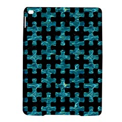 Puzzle1 Black Marble & Blue Green Water Apple Ipad Air 2 Hardshell Case by trendistuff