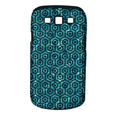 Hexagon1 Black Marble & Blue Green Water (r) Samsung Galaxy S Iii Classic Hardshell Case (pc+silicone) by trendistuff