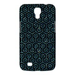 Hexagon1 Black Marble & Blue Green Water Samsung Galaxy Mega 6 3  I9200 Hardshell Case by trendistuff