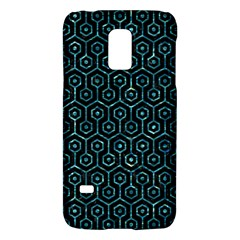 Hexagon1 Black Marble & Blue Green Water Samsung Galaxy S5 Mini Hardshell Case  by trendistuff