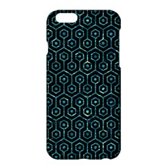 Hexagon1 Black Marble & Blue Green Water Apple Iphone 6 Plus/6s Plus Hardshell Case by trendistuff