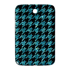 Houndstooth1 Black Marble & Blue Green Water Samsung Galaxy Note 8 0 N5100 Hardshell Case  by trendistuff