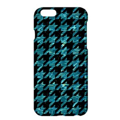 Houndstooth1 Black Marble & Blue Green Water Apple Iphone 6 Plus/6s Plus Hardshell Case by trendistuff
