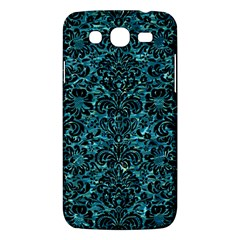 Damask2 Black Marble & Blue Green Water (r) Samsung Galaxy Mega 5 8 I9152 Hardshell Case  by trendistuff