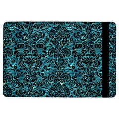 Damask2 Black Marble & Blue Green Water (r) Apple Ipad Air Flip Case by trendistuff