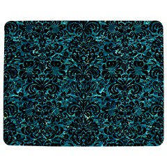 Damask2 Black Marble & Blue Green Water (r) Jigsaw Puzzle Photo Stand (rectangular) by trendistuff