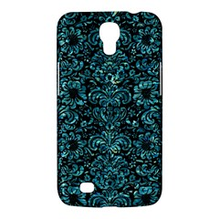 Damask2 Black Marble & Blue Green Water Samsung Galaxy Mega 6 3  I9200 Hardshell Case by trendistuff