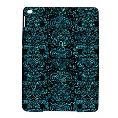 Damask2 Black Marble & Blue Green Water Apple Ipad Air 2 Hardshell Case by trendistuff