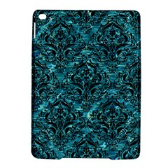 Damask1 Black Marble & Blue Green Water (r) Apple Ipad Air 2 Hardshell Case by trendistuff