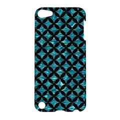 Circles3 Black Marble & Blue Green Water (r) Apple Ipod Touch 5 Hardshell Case by trendistuff
