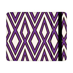Diamond Key Stripe Purple Chevron Samsung Galaxy Tab Pro 8 4  Flip Case