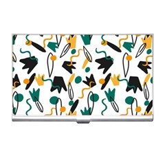 Flowers Duck Legs Line Business Card Holders by Mariart