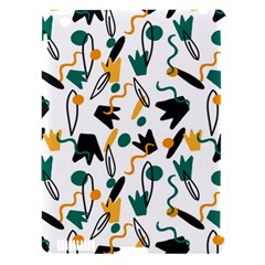 Flowers Duck Legs Line Apple Ipad 3/4 Hardshell Case (compatible With Smart Cover) by Mariart