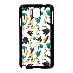 Flowers Duck Legs Line Samsung Galaxy Note 3 Neo Hardshell Case (black) by Mariart