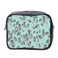 Cockroach Insects Mini Toiletries Bag 2 Side by Mariart