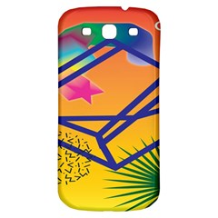 Leaf Star Cube Leaf Polka Dots Circle Behance Feelings Beauty Samsung Galaxy S3 S Iii Classic Hardshell Back Case by Mariart