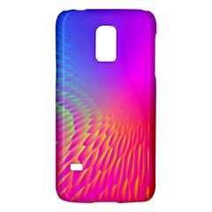 Light Aurora Pink Purple Gold Galaxy S5 Mini by Mariart
