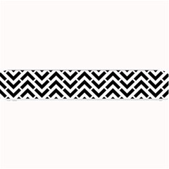 Funky Chevron Stripes Triangles Small Bar Mats by Mariart