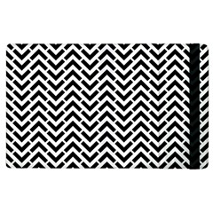 Funky Chevron Stripes Triangles Apple Ipad 3/4 Flip Case by Mariart