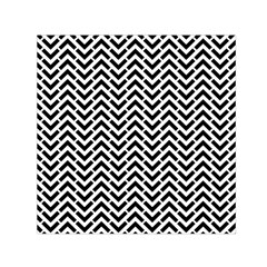 Funky Chevron Stripes Triangles Small Satin Scarf (square) by Mariart