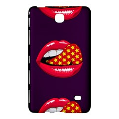 Lip Vector Hipster Example Image Star Sexy Purple Red Samsung Galaxy Tab 4 (8 ) Hardshell Case  by Mariart