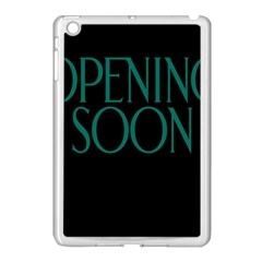 Opening Soon Sign Apple Ipad Mini Case (white) by Mariart