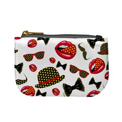 Lip Hat Vector Hipster Example Image Star Sexy Mini Coin Purses