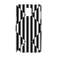 Optical Illusion Inverted Diamonds Samsung Galaxy Note 4 Hardshell Case by Mariart