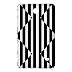 Optical Illusion Inverted Diamonds Samsung Galaxy Tab 4 (8 ) Hardshell Case  by Mariart