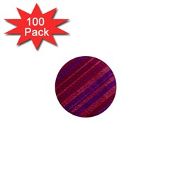 Maroon Striped Texture 1  Mini Magnets (100 Pack)  by Mariart