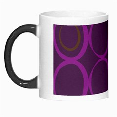 Original Circle Purple Brown Morph Mugs by Mariart