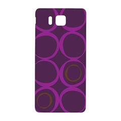 Original Circle Purple Brown Samsung Galaxy Alpha Hardshell Back Case by Mariart