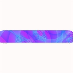 Original Purple Blue Fractal Composed Overlapping Loops Misty Translucent Small Bar Mats by Mariart
