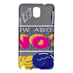 Polka Dots Waves Leaf Circle Behance Feelings Beauty Samsung Galaxy Note 3 N9005 Hardshell Case by Mariart