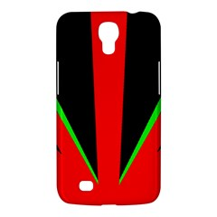Rays Light Chevron Green Red Black Samsung Galaxy Mega 6 3  I9200 Hardshell Case