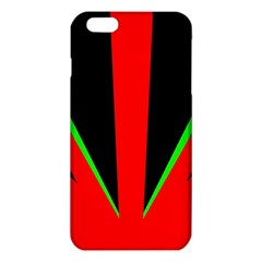Rays Light Chevron Green Red Black Iphone 6 Plus/6s Plus Tpu Case by Mariart