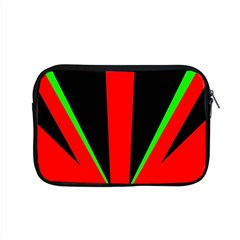 Rays Light Chevron Green Red Black Apple Macbook Pro 15  Zipper Case by Mariart