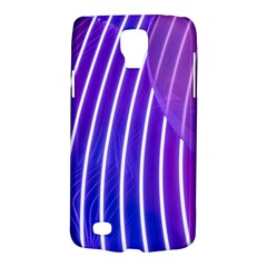Rays Light Chevron Blue Purple Line Light Galaxy S4 Active by Mariart