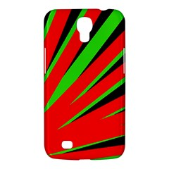 Rays Light Chevron Red Green Black Samsung Galaxy Mega 6 3  I9200 Hardshell Case by Mariart