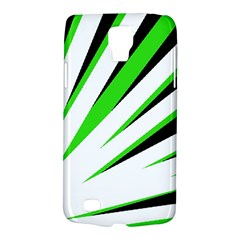 Rays Light Chevron White Green Black Galaxy S4 Active