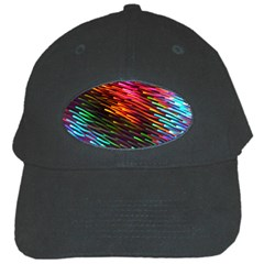 Rainbow Shake Light Line Black Cap